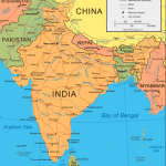 india geography and india map